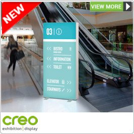 PixlipGo Backlit Display Stand from Creo Ireland