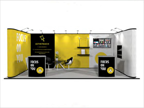 Nomadic Display Modular Popup Stand Design 3A