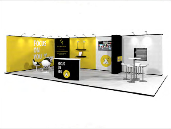 Nomadic Display Modular Popup Stand Design 3B