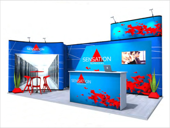 Nomadic Display Modular Popup Stand Design 4