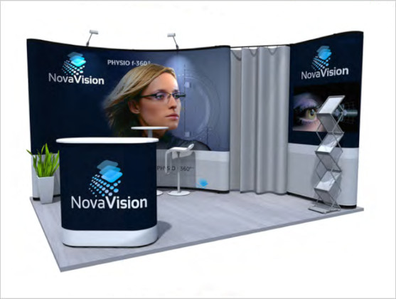Nomadic Display Modular Popup Stand Design 5