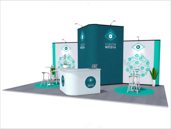 Nomadic Display Modular Popup Stand Design 7