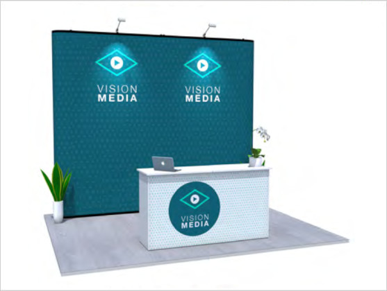 Nomadic Display Modular Popup Stand Design 7 Reconfiguration