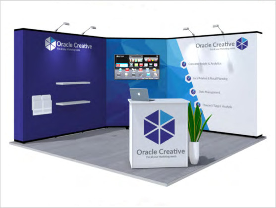 Nomadic Display Modular Popup Stand Design 8