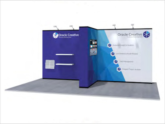 Nomadic Display Modular Popup Stand Design 8 Reconfiguration