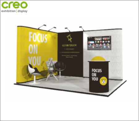 Image of a Nomadic Display Modular Popup Stand Design 3