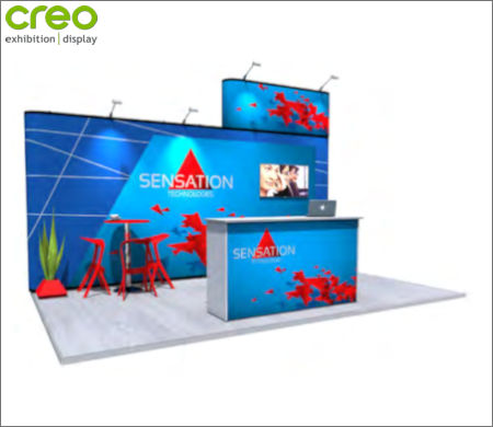 Image of a Nomadic Display Modular Popup Stand Design 4