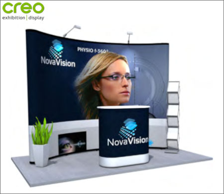Image of a Nomadic Display Modular Popup Stand Design 5