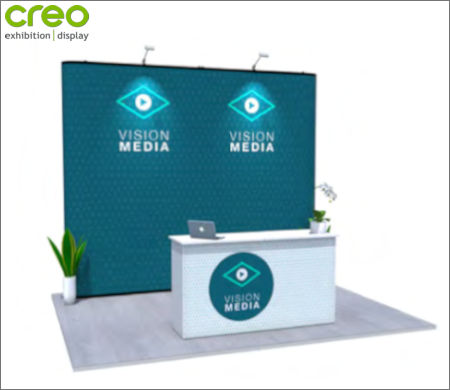 Image of a Nomadic Display Modular Popup Stand Design 7