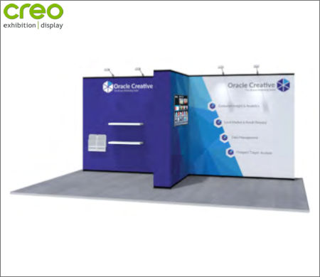 Image of a Nomadic Display Modular Popup Stand Design 8
