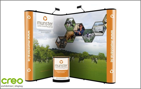Nomadic Plus P31+P31 Corner Pop Up Stand