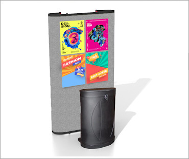 Image of a P31 Fabric Poster Display Stand