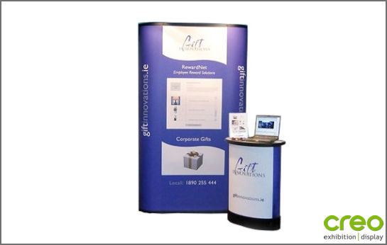 Image of a Nomadic Display P31 Pop-up Stand