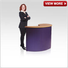 Portable Counter - Flex, Lecturn Counters & Plinths from Creo Ireland
