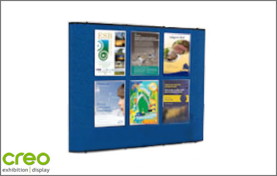 Image of a Pop Up Fabric Panel Stand to Rent from Creo Ireland