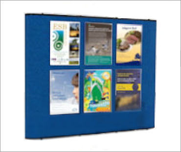 Image of a Fabric Rental Display Stand