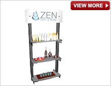 >Portable Product Shelving Unit