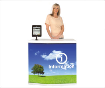 Image of a Promotional Demonstration Counter