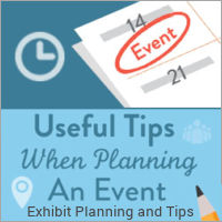 Image of an Exhibit Planning and Tips Graphic