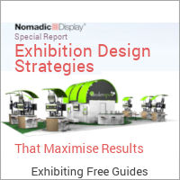 Image of an Exhibiting Free Guides Graphic