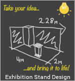 Image of an Exhibition Design Graphic