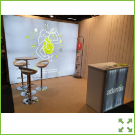 Image of a 3 Meter Backlit Stand from Creo Ireland