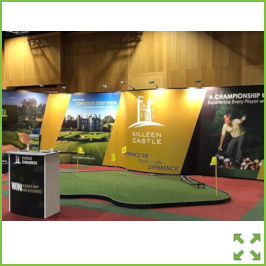 Image of an Large Backwall Pop-up Display Stand from Creo Ireland