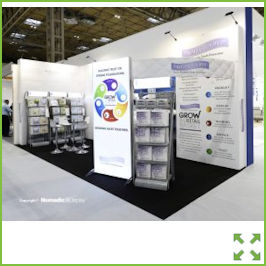 Image of a Display Stand with Shelving Units from Creo Ireland