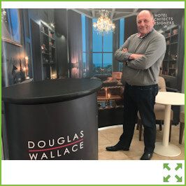 Image of a Douglas Wallace Display Stand from Creo Ireland
