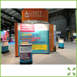 Image of an GMIT Stand Higher Options from Creo Ireland
