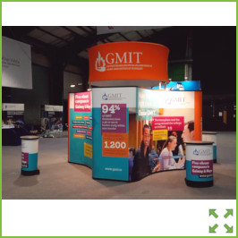Image of a GMIT Stand RDS 2019 from Creo Ireland