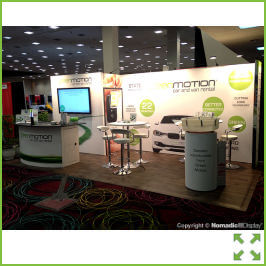 Image of Linear Exhibition Stand from Creo Shannon