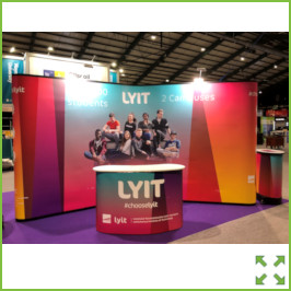 Image of an LYIT Stand Higher Options from Creo Ireland