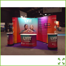 Image of a LYIT Stand RDS 2019 from Creo Ireland