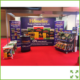 Image of a P33 Pop Up Stand from Creo Shannon