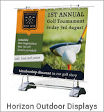 Image of an Horizon Outdoor Display