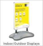 Image of an Indoor/Outdoor Display