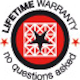 Image of Lifetime Warranty Badge