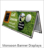 Image of a Monsoon Banner Display