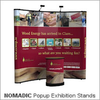 Image of an Nomadic Popup Display Stand