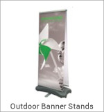 Image of a Outdoor Banner Stand
