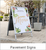 Image of a Pavement Sign