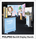 Image of a PIXLIPGO Lightweight Backlit Stand