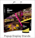 Image of a Pop Up Display Stand