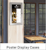 Image of a Poster Display Case