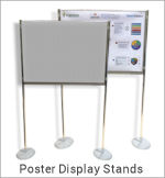 Image of a Poster Display Stand