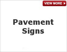 Pavement Signs