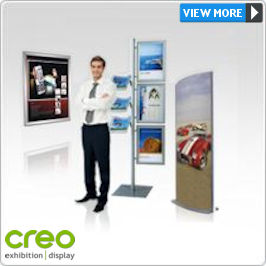 Indoor Displays - Posters, Menu Stands, Literature Holder