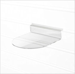 Image of a Curved Product Shelf