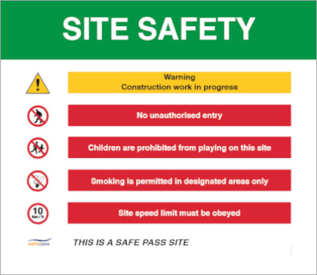 Image of Health & Safety Signs